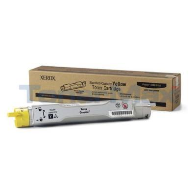 XEROX PHASER 6300/6350 TONER CTG YELLOW 4K